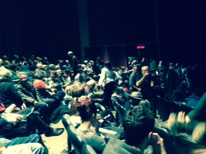Audience at premiere of FM Youth, Cinemental Festival, Winnipeg